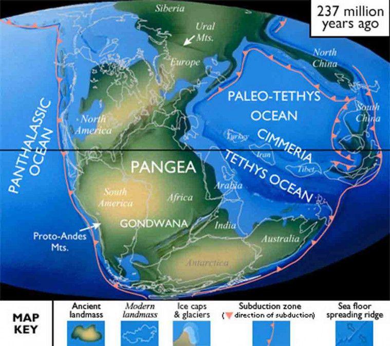 Teori Superbenua Pangea