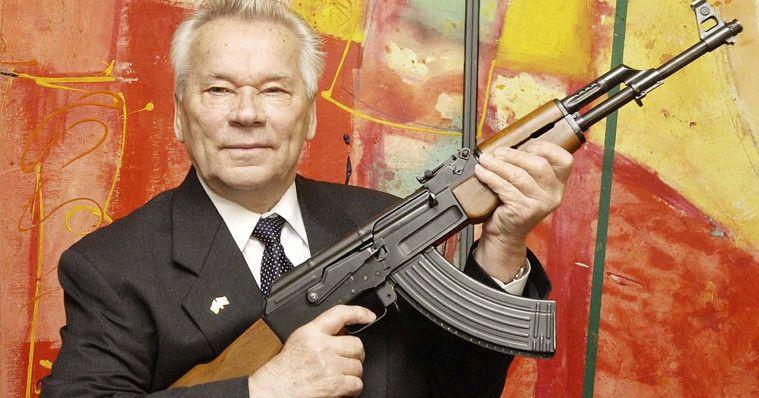 Penemu yang membenci penemuannya sendiri adalah Mikhail Kalashnikov