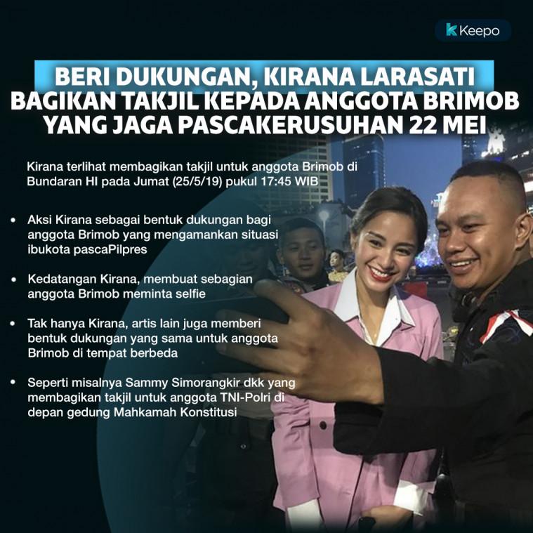 Kirana Larasati kerusuhan 22 mei 19