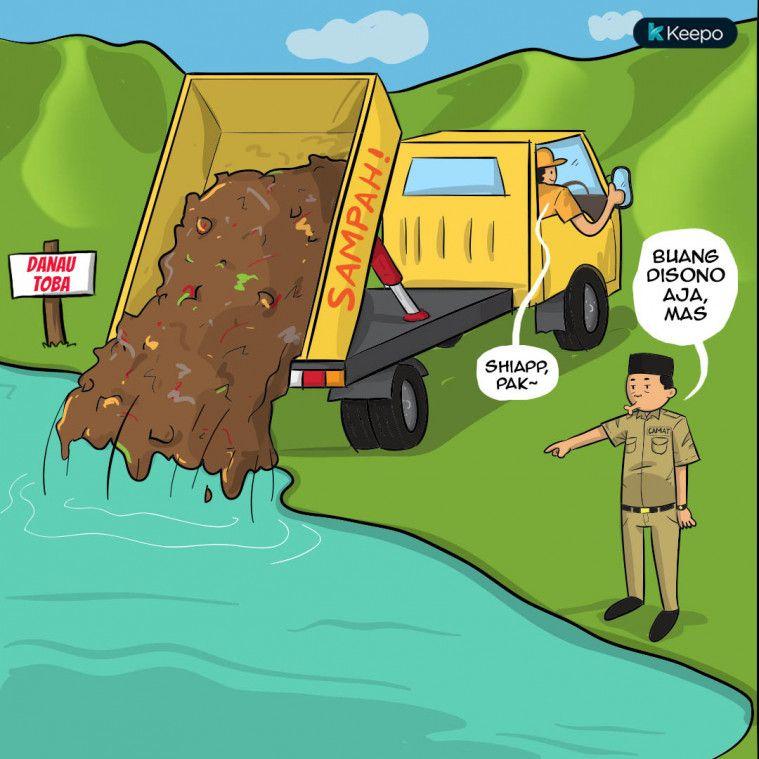 Mirzan Blog S 30 Ide Keren Gambar Anak Buang Sampah Sembarangan Kartun