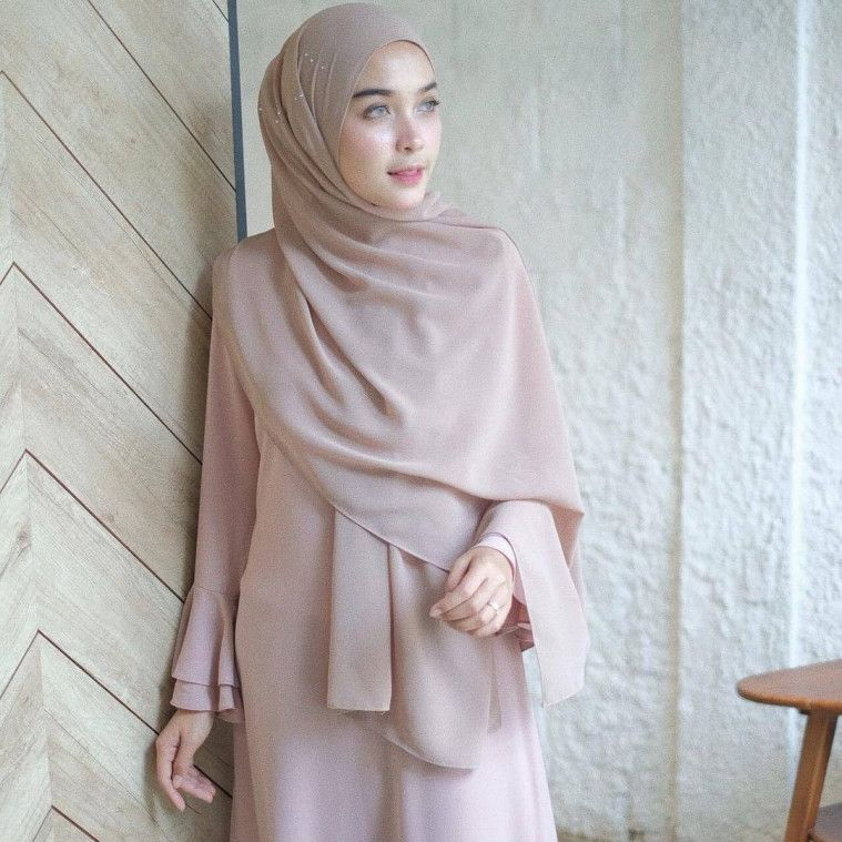 Cara Memakai Hijab Pashmina Anti Ribet Tanpa Banyak Jarum
