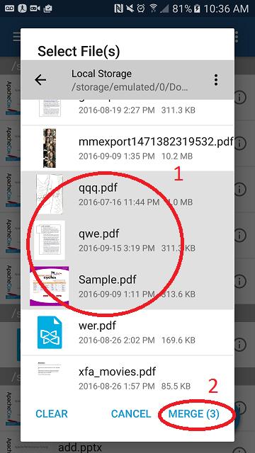Cara Menggabungkan File Pdf Online Offline Di Hp Dan Pc