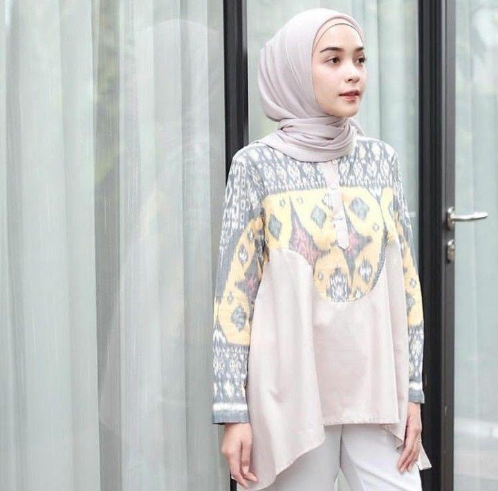 94 Model Baju Batik Hitam Putih HD