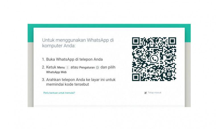 verifikasi web whatsapp