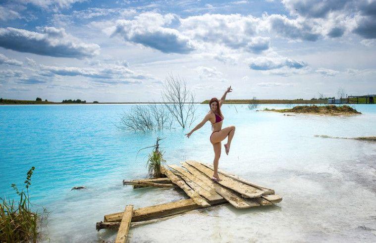 danau cantik tapi mematikan di Rusia