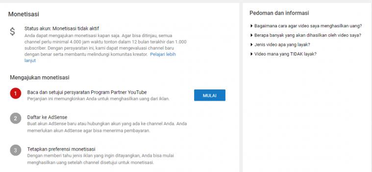 Cara Mendapatkan Uang dari Youtube Indonesia. Bikin Kaya!