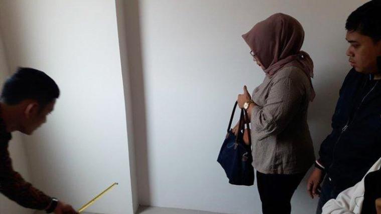 Pembeli Rumah DP 0 Kaget, Usai Cek Kamar Hanya Sepanjang 1,8 Meter