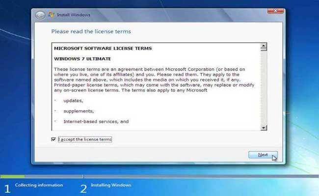 cara instal windows 7 tercepat