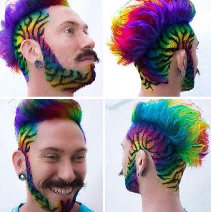 12 Pria Ini Tetap Percaya Diri Dengan Gaya Rambut Anehnya