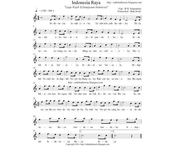 11 Daftar Lagu Wajib Nasional Indonesia