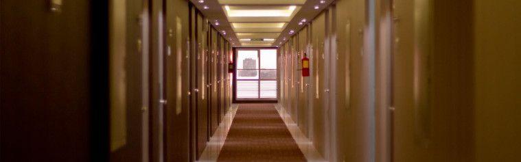 Ilustrasi Lorong Hotel