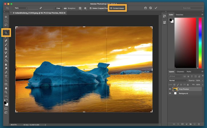 Cara Crop Foto Di Photoshop Ukuran 2x3 3x4 4x6
