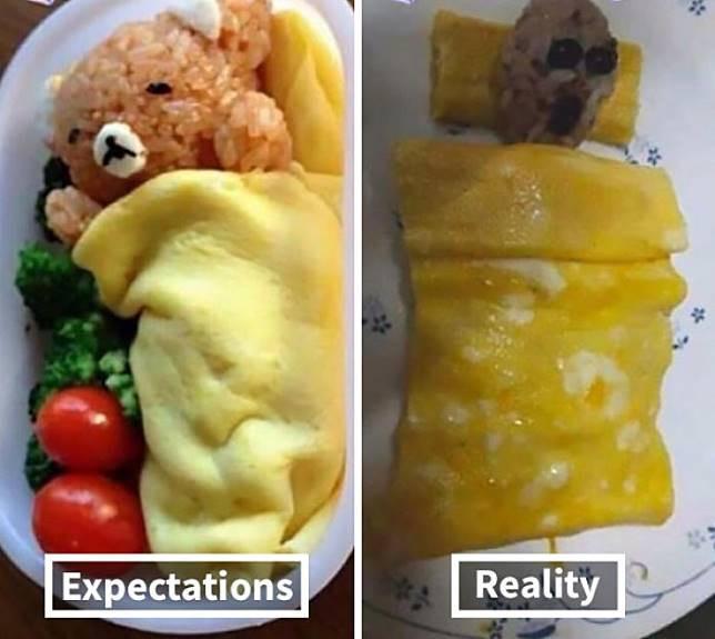 Makanan yang gak sesuai ekspektasi