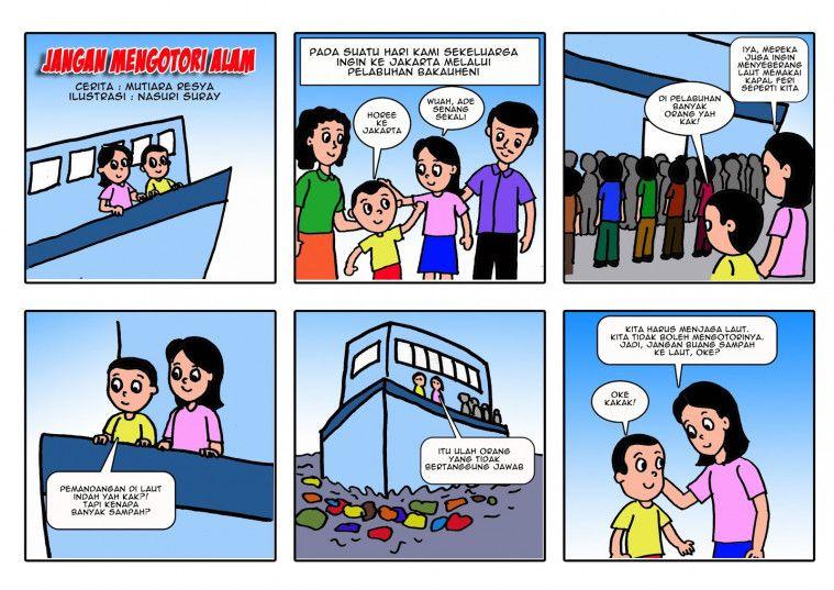 Kumpulan Komik Pendidikan Yang Lucu Dan Menghibur