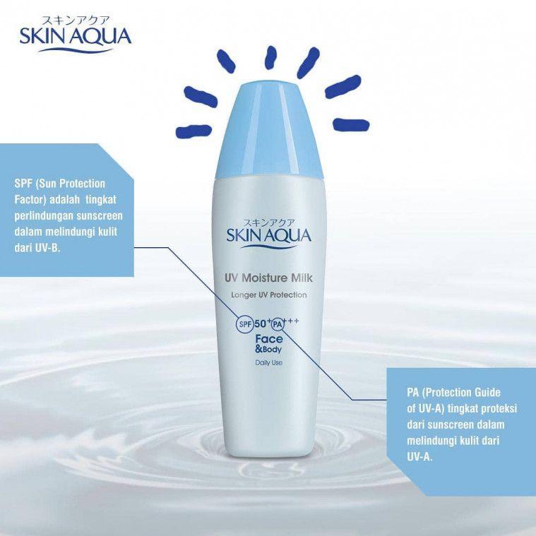 Sunscreen Skin Aqua Untuk Kulit Sensitif Dan Berjerawat
