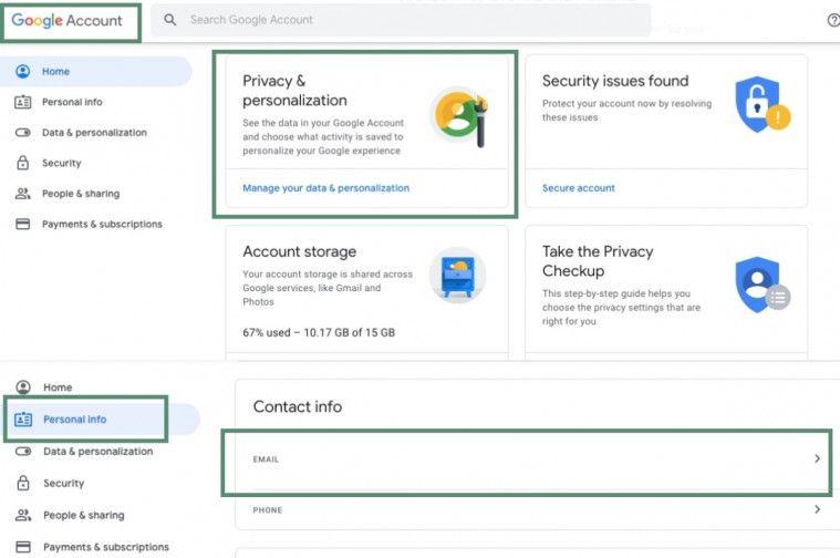 Cara Mengubah Alamat Email Dan Nama Akun Di Gmail