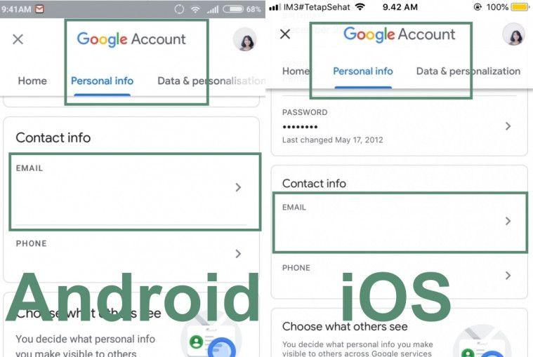 Temukan Cara Mengganti Nama Email Google mudah