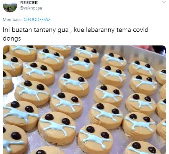 Kue kering gagal bikinan netizen