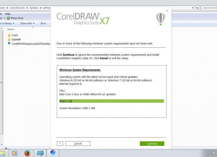 Cara Instal Dan Aktivasi Serial Number Corel Draw X7 Windows