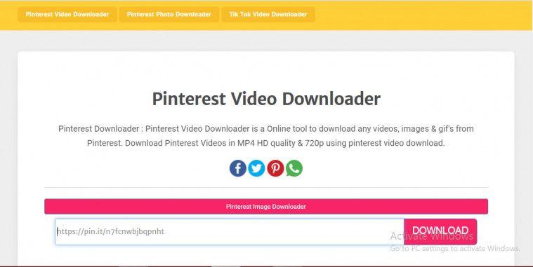 4 Cara Download Video Pinterest Di Hp Dan Pc