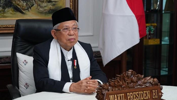 Wapres Maruf Amin dan 'Kakek Sugiono'
