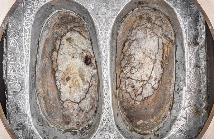 Foto penampakan jejak kaki nabi Ibrahim