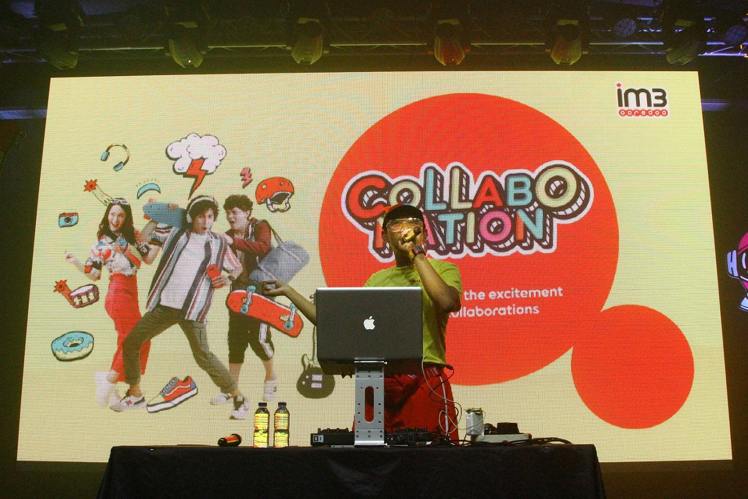 Collabonation, IM3 Ooredoo, podcast, KOLABORASI